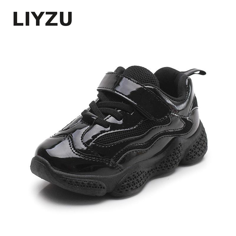 Children Breathable Sneakers Boys Girls Fashion Student Sports Shoes Wild Non slip Casual Running Shoes Tide 2019 Spring New in Sneakers from Mother Kids
