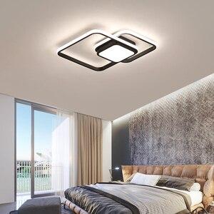 Image 4 - LICAN yatak odası oturma odası tavan ışıkları lampe plafond avize Modern LED tavan ışıkları uzaktan kumanda ile lamba