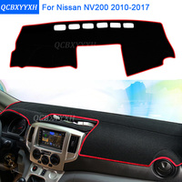 Car Styling Dashboard Protective Mat Shade Cushion Photophobism Pad Interior Carpet For Nissan NV200 2010 2017