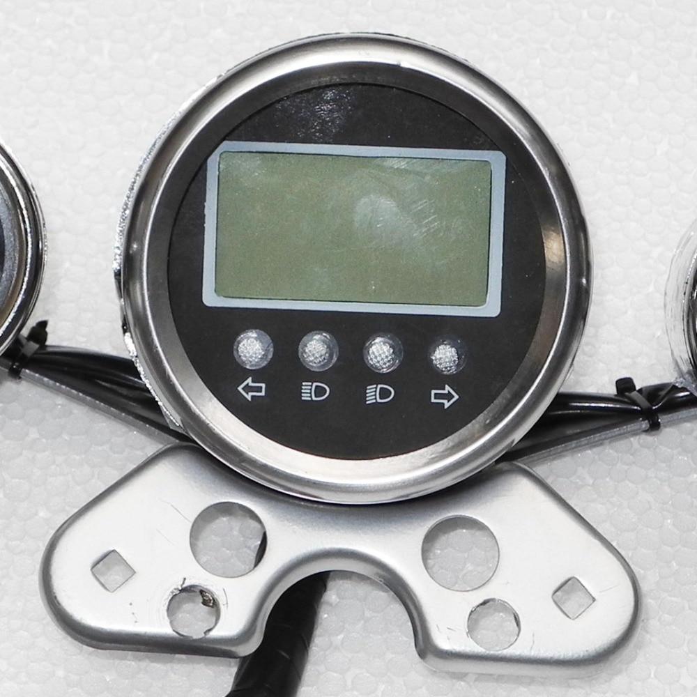 250CC гоночный ATV спидометр, ЖК-экран, с счетчиком оборотов и манометром топлива