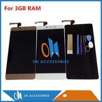 Black White Gold Color For 1920 1080 5 0 Inch Redmi 4 Pro 3GB RAM LCD