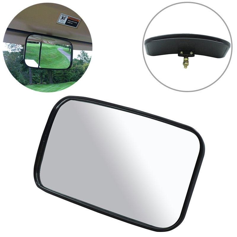 Joytutus BID Rearview Mirror Shockproof Rear View Mirror Racing Mirror Golf Carts For EZ Go Club Car For Yamaha Wide Mirrors