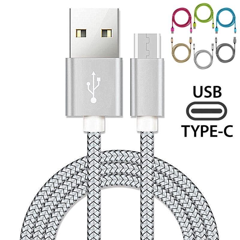Кабель USB Type-C для Xiaomi Redmi K20, note 7 Pro, Mi 9t, 9, Samsung A70, A40, 2 м