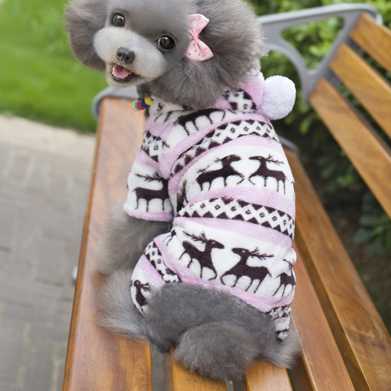 Χειμώνας ρούχα σκυλιών Snowflake Fleece - Προϊόντα κατοικίδιων ζώων - Φωτογραφία 5