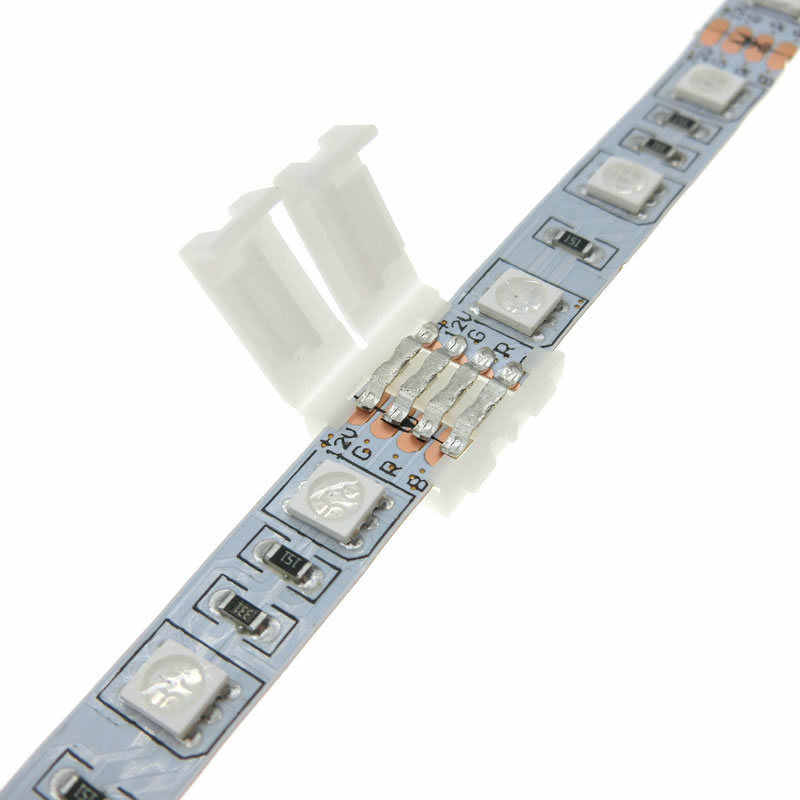 5 Pcs/lot, 5pin LED Strip Klip 5 Pin RGBW Rgbww LED Strip Konektor untuk 10 Mm Lebar 5050 RGB + W RGB + WW Lampu Strip
