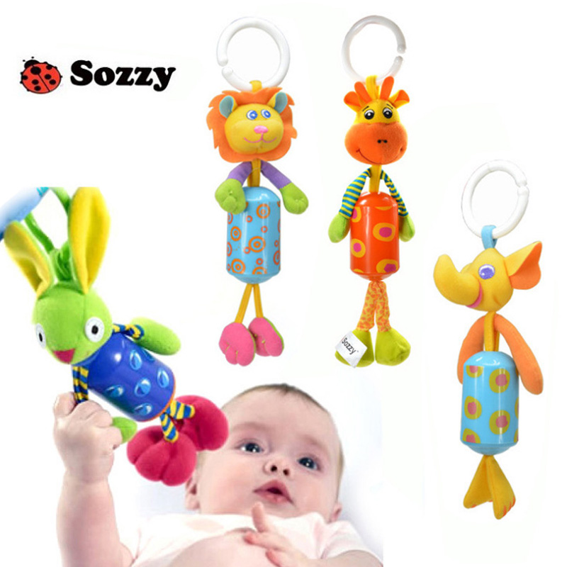 0M+ Wind Chimes Infant Baby Mobile Music Toys Soft Plush Musical Rattle Stroller Crib Pram Hanging Toy jouet juguetes