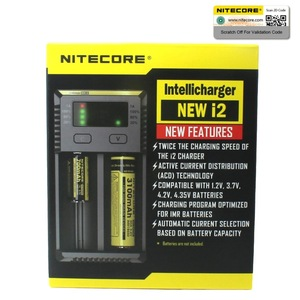 Image 2 - NITECORE NEWI2 Digicharger LCD วงจรอัจฉริยะ li   ion สำหรับ 16340 14500 18650 18750 26650 แบตเตอรี่ 3.7 V carregador