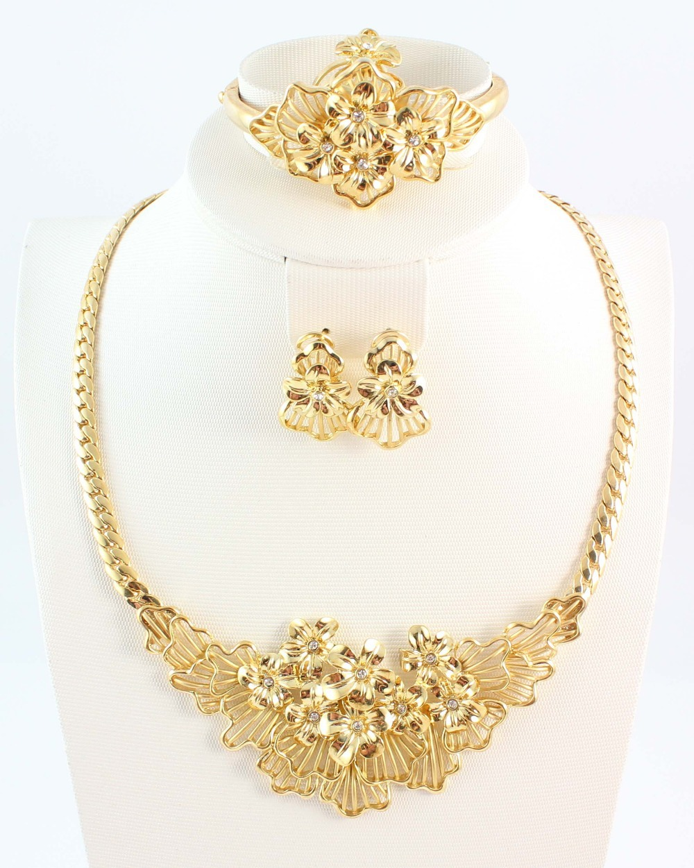 Free Shipping Fashion High Quality Costume Jewelry Gold ...