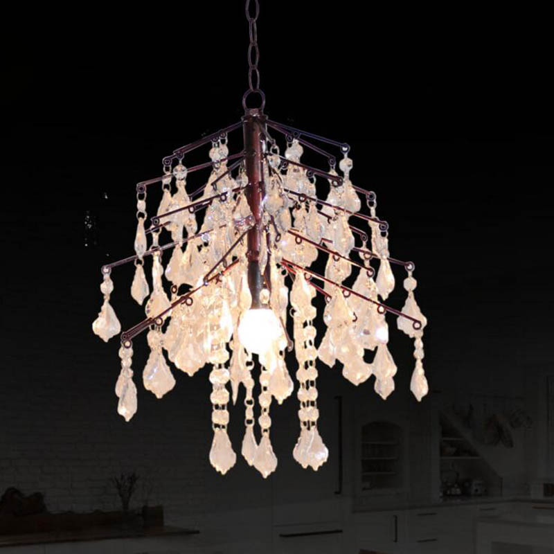 Lights & Lighting Lighting American Country Simple Acrylic White Pendant Chandelier European Creative Branch Light Art Chandelier Led Lighting To Be Highly Praised And Appreciated By The Consuming Public