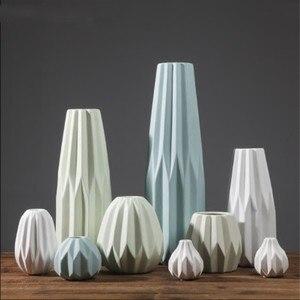 Креативная простая современная керамическая ваза, журнальный столик для гостиной, украшения для дома, украшения для цветов
