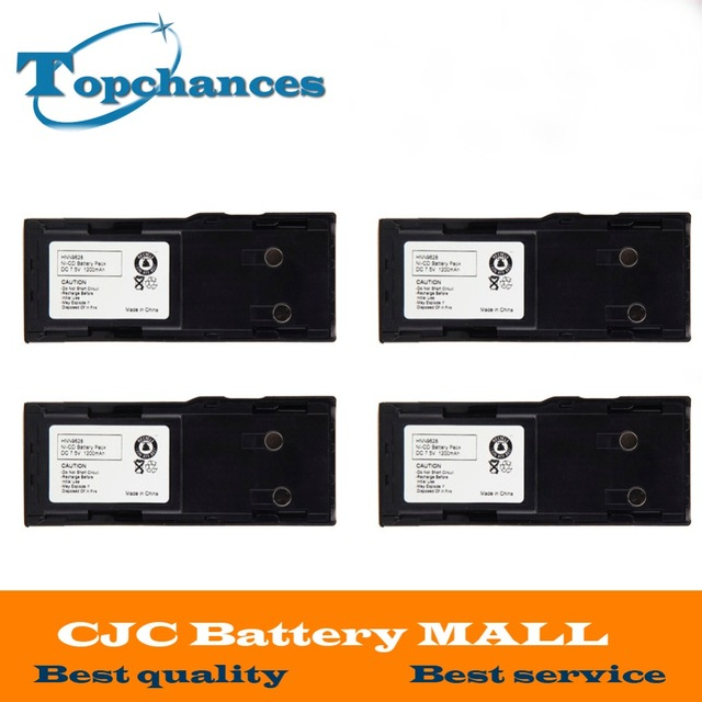 Высокое качество 4 шт. 1200 мАч ni-cd hnn9628 hnn9628a Батарея для Motorola GP-300 ptx600, mtx638 lcs2000 lts2000