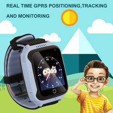 M05 GPS GPRS positioning Real-time Tracker Location SOS Call Remote Camera Monitor Flashlight Watch Wristwatch for Kids child