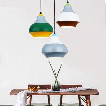 Modern Cirque Pendant Lights dining room Led Hanglamp Loft Industrial Hanging Lamp for Living Room decor Kitchen Home Fixtures