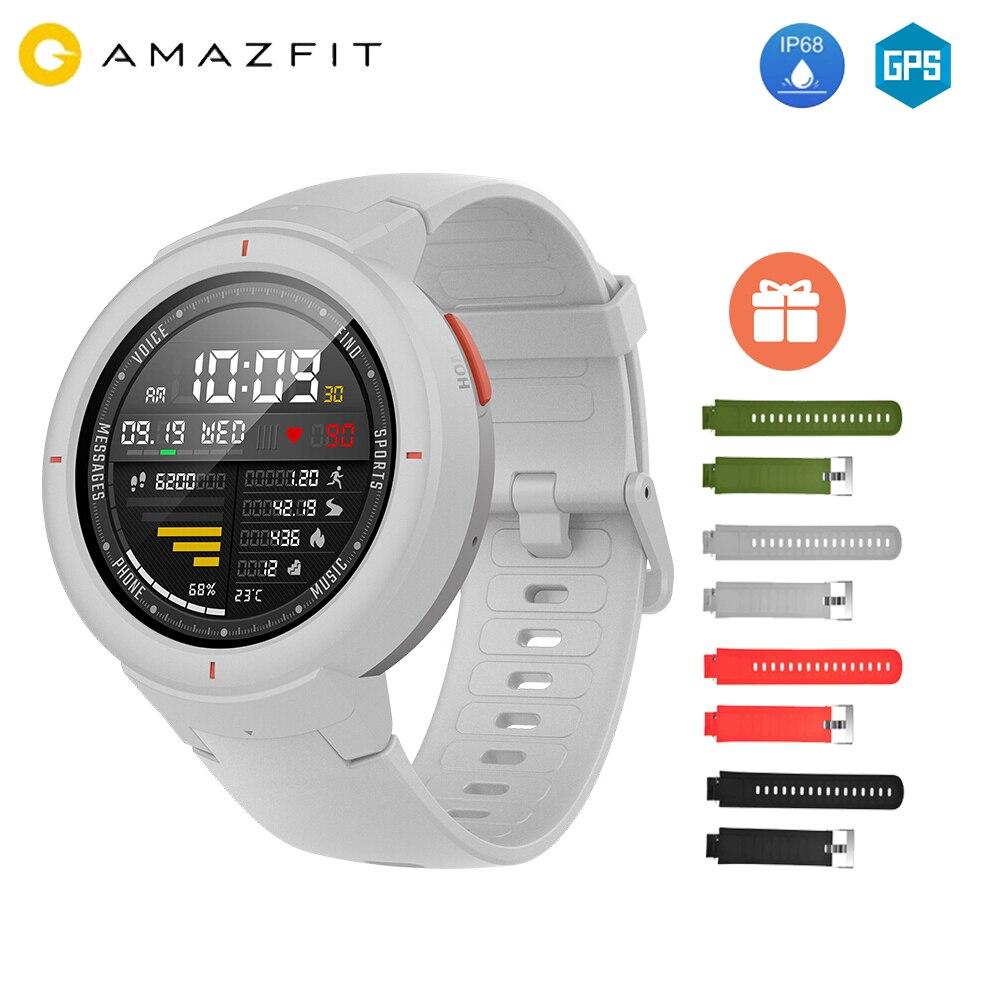 Free Strap Xiaomi Huami AMAZFIT Verge 3 Alexa GPS IP68 Smart Watch Multi Sports Smartwatchs
