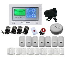 DHL freeshipping Home security wireless GSM alarm system for Home Security System Auto Dialer PIR Motion Sensor