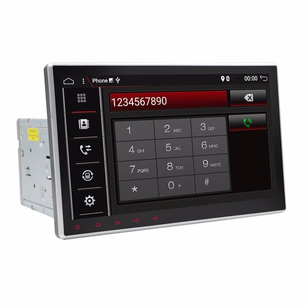 10'1 дюймовый 1024*600 Android 7,1 автомобилей Tablet 2 din универсальный для Nissan gps навигация Радио стерео аудио мультимедиа плеер