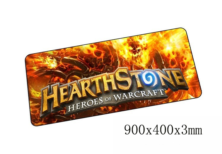 Hearthstone mouse pads 900x400x3mm pad to mouse notbook computer mousepad best gaming padmouse gamer laptop keyboard mouse mat