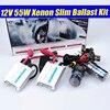 Pengiriman Gratis Kualitas Tinggi 12 V 55 W Menyembunyikan Xenon Kit H1 H3 H7 H8 H9