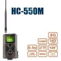 HC550M Wild Camera Hunter Photo Trap 16MP 0.5S Trigger Outdoor Wildlife Camera GPRS MMS HC550M Video recorder