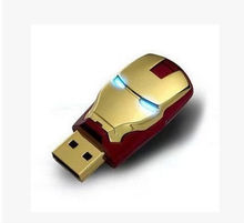 2.0 Flash Memory Stick Drive usb creativo Avengers Iron Man USB U Disk Festival Thumb/Car/Pen Gift  hot selling 2GB-32GB S112