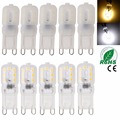 10 Unids/lote NUEVO mini LED 6 W 110 V 220 V G9 Lámpara Led bulbo de SMD 2835 Spotlight Bombilla Vela Reemplazar 40 W Lámpara Halógena luz