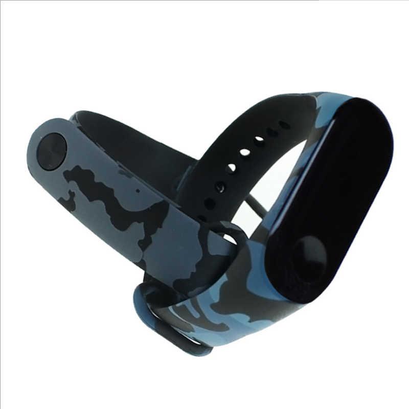 M3 ソフトユニセックスブレスレットシャオ mi mi バンド 3 腕時計交換シリコン調節可能なファッション 1pc 新手首バンドストラップリストバンド