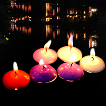 24 PCS Floating Candles vela for Wedding Birthday Party Christmas Home Table Decoration
