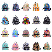 цена на New Preppy Style Women Backpacks Printing Bookbags Canvas Backpack School Bag For Girls Rucksack Female Travel Bag Backpack