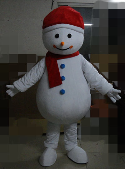 ohlees christmas snowman mascot costumes party Halloween character party Fancy Dress school team sport Adult Size hot sale
