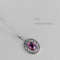 Turkey Pendant Necklace Silver Color Millet Resin White Crystal Rhinestones 2014 Popular Global Fashion Statement Necklace