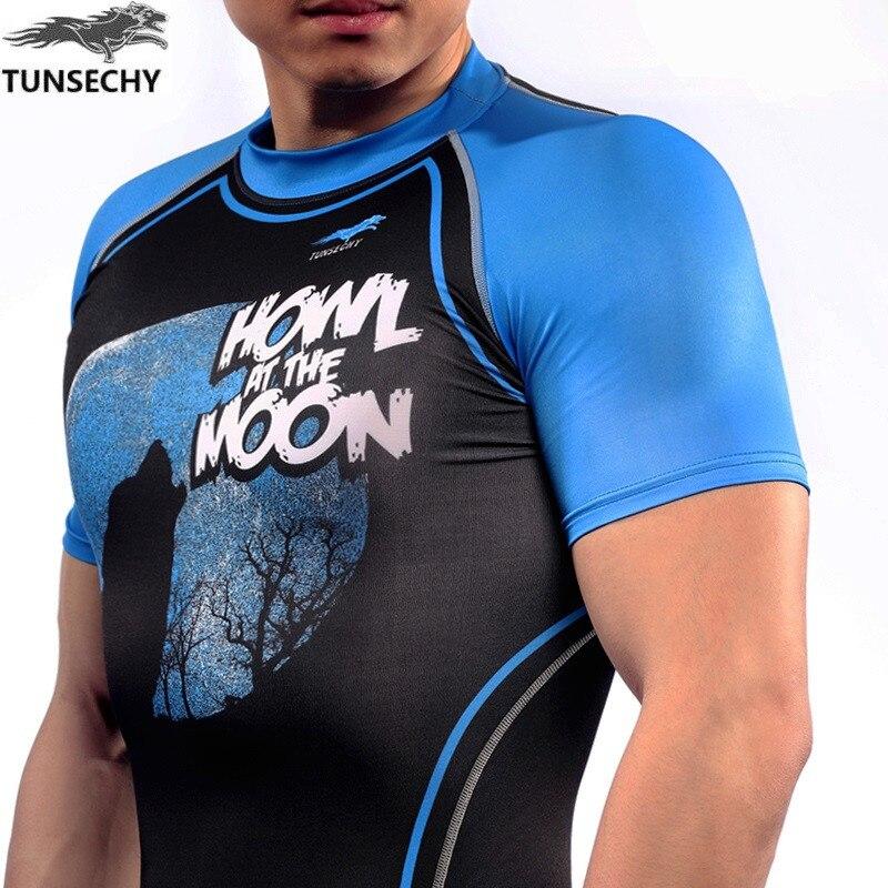 Camisetas de manga corta para hombre Camisas de compresión Piel - Ropa de hombre - foto 4