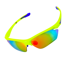 Free Shipping New Polarized Cycling Eyewear Sports Sun Glasses Outdoor Sports Windproof Eyewear Bike Bicycle Motorcycle Glasses
