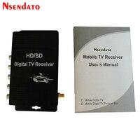 Digital Car ATSC HD TV Receiver Tuner With Antenna for USA Mexico Canada