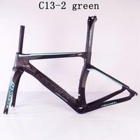 carbon Road Bicycle Frameset red black Carbon Frame road bike bsa NK1K