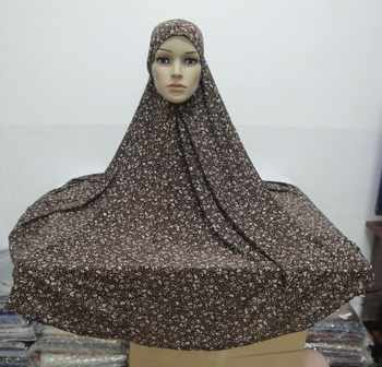 H585 fashion big size print hijab,fast delivery,assorted colors - DISCOUNT ITEM  10 OFF Apparel Accessories
