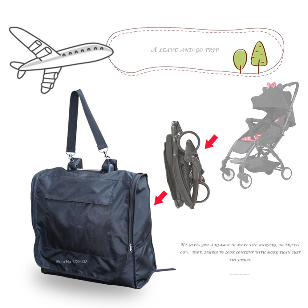 Travel Bag Plane Waterproof Carrying Carry Case Stroller Organizer For Babyzen YOYO + Stroller Accessories Prams Wheelchair
