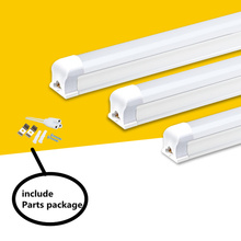купить High Bright LED Tube T8 Light AC 220V 0.6m 60cm 600mm 8W LED T8 Integrated Driver Fluorescent Lamp Bulb T8 Cold Warm White дешево