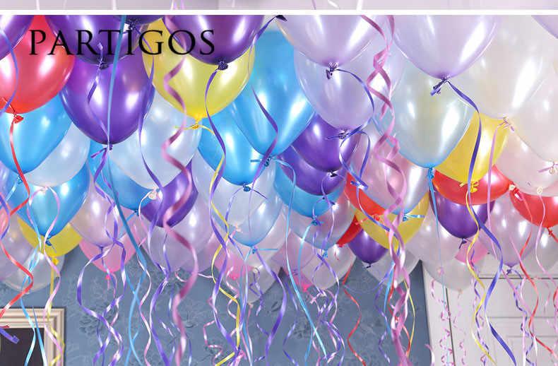 50 шт./лот 1.5 г 10 дюймов чисто Перл латексные шары Свадьба День рождения фон Декор гелий надувные Globos Подарки Поставки