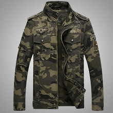 Plus size 4XL coats men Jackert Gentlemen Army Military jacket camouflage Tactical Camouflage casual fashon bomber Jackets