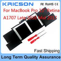 """Véritable batterie A1820 pour Apple MacBook Pro 15 """"Retina A1707 fin 2016 mi 2017 modèle"""