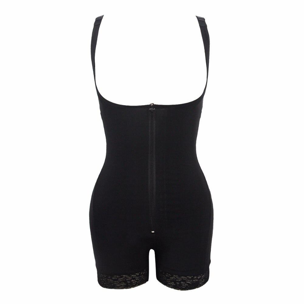 Taille Trainer Bodysuit Afslanken Ondergoed Korsetten Shapers Body Shaper Sjerpen Shapewear Ondergoed Bodysuit Controle Broek - 5