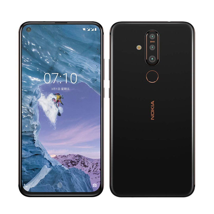 "Original Nokia X71 Mobile Phone 6GB RAM 128GB ROM 6.39"" Snapdragon 660 Octa Core 48MP Fingerprint 4G LTE Android 9 Smartphone"