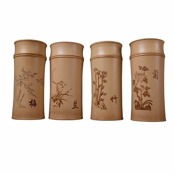 Large Capacity Natural Bamboo Storage Jars For Bulk Products Kitchen Accessories Container Bottle Spices Tea Box Caddy Sealed 6