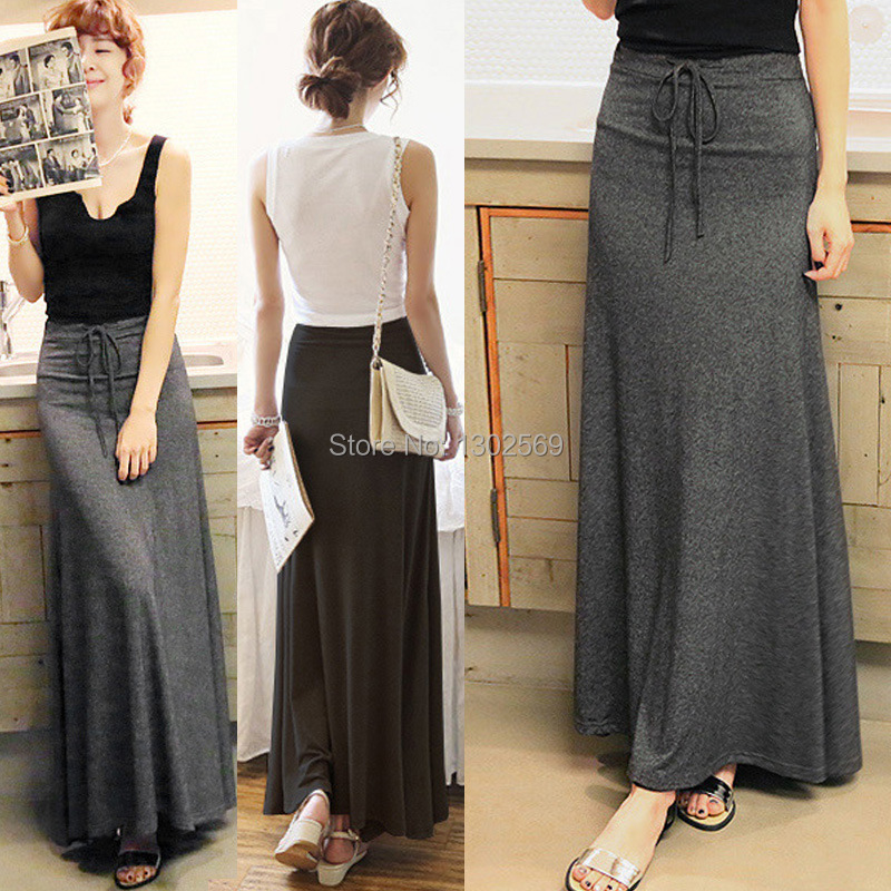 Long Casual Skirts - Skirts