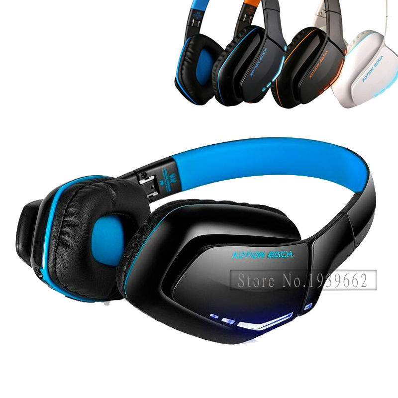 EACH B3506 Noise Isolation Bluetooth Stereo Headphone Foldable Best Wireless Music with Mic for PS4 PC Mac Smartphones Computers high quality portable wireless bluetooth stereo foldable headphone with built in mic speaker for music