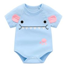 a9d572ed7 2018 baby girl verão bodysuit roupas de algodão azul para new born roupa do  bebê infantil de alta qualidade traje barato roupas .