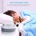 Tragbare Weiß Noise Sound Maschine Baby Licht Schlaf Therapie Regler mit 9 Anlage Beruhigende Sound Baby Schlaf Monitor