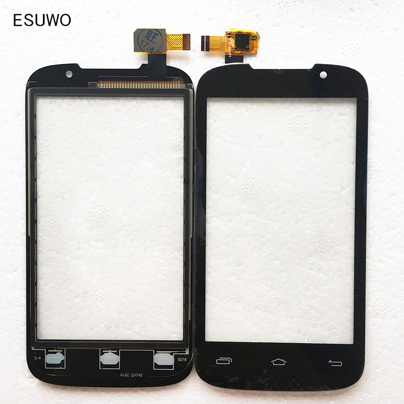 ESUWO New Touch Screen For Prestigio MultiPhone PAP 3400 Duo PAP3400 Touch Panel Digitizer Glass Replacement +3M Sticker