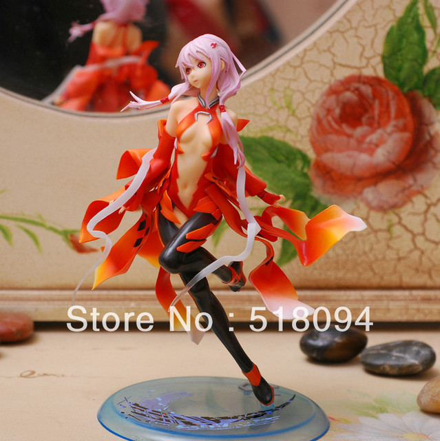 Free Shipping Sexy Guilty Crown Inori Yuzuriha Model 1/8 Scale Painted PVC Action Figure Collection Model Toy SGFG074