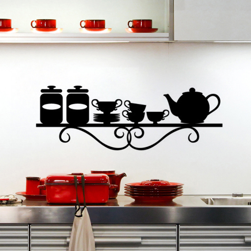 Small Restaurant Wall Decor : Kitchen utensils decorations restaurant wall